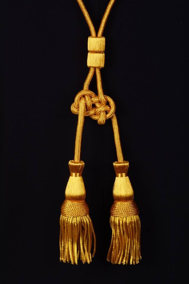 Coppia cordoniera oro