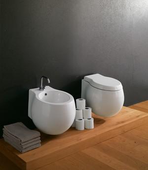 Bidet sospeso per il bagno cm 50 x 45 Planet Scarabeo