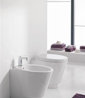 Bidet a terra per il bagno cm 57 x 35 Wish Scarabeo