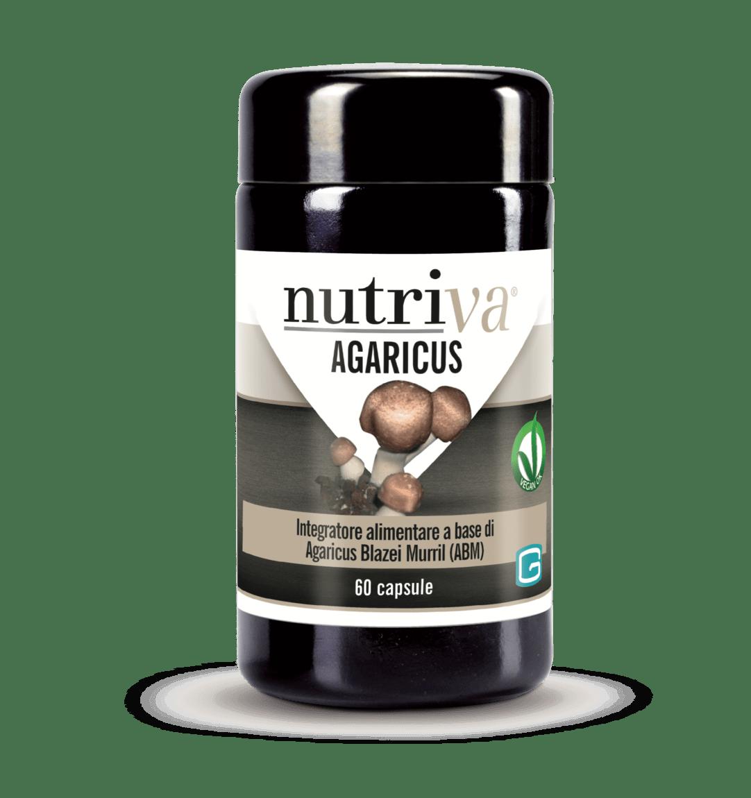 AGARICUS Blazei Murril (ABM) NUTRIVA 60 capsule