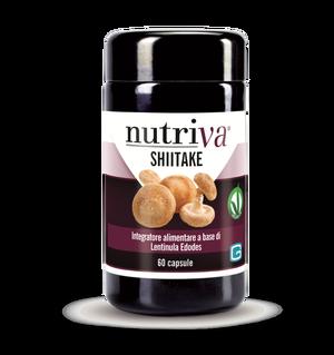 SHIITAKE  Lentinula edodes NUTRIVA 60 compresse