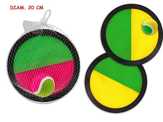 CATCH BALL CON PALLINA 20CM 2 COL 51721 TEOREMA