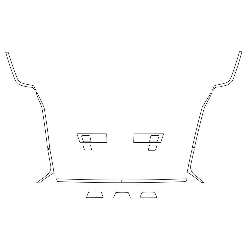 MAN Profili laterali mascherina Adatta Man  TGX Euro 6 (2013 -2018)