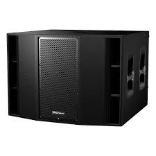 Subwoofer XPRS215S PIONEER 1200W A