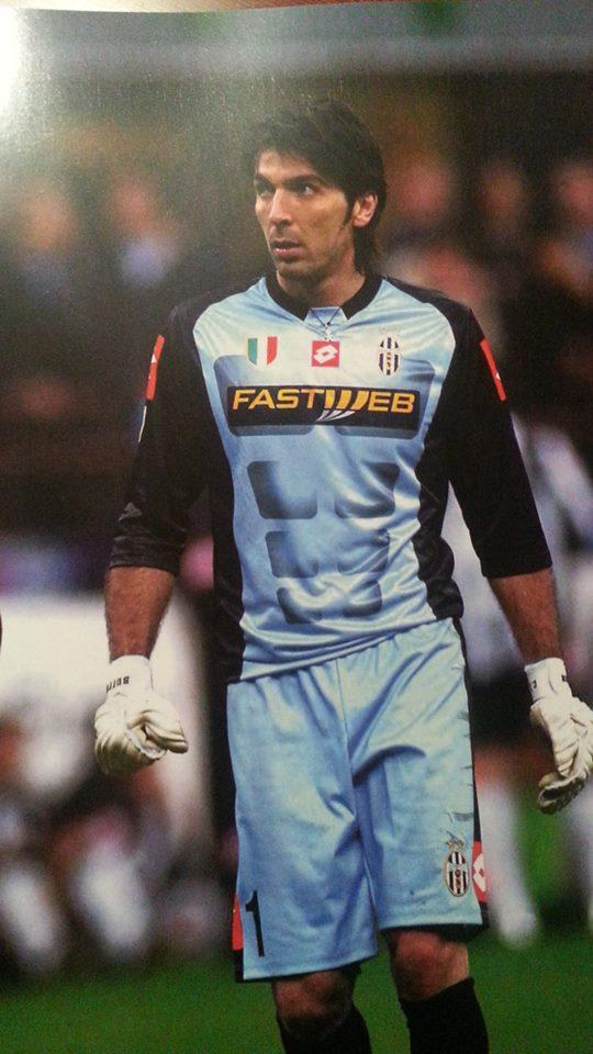 Portiere Juventus 1 03 Maglia Match Shirt Buffon Worn top 2002 Xl HPxBwqt