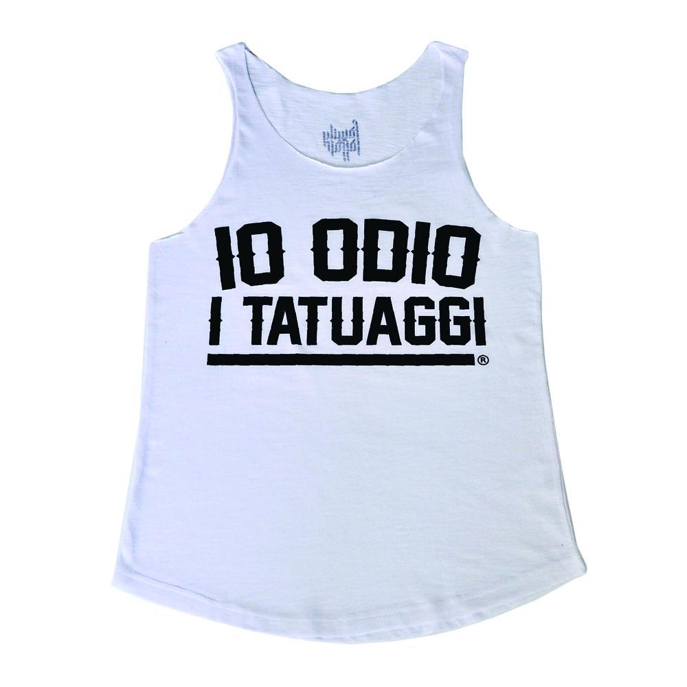Canotta IO ODIO I TATUAGGI