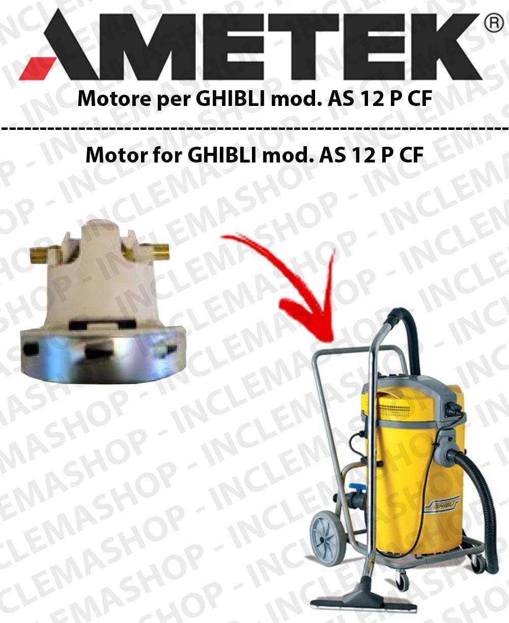 sélectionner pour le meilleur sur des pieds à produit chaud Détails sur AS 12 P CF Moteur aspiration Amatek pour aspirateur GHIBLI