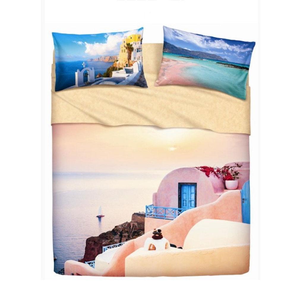 Set lenzuola letto matrimoniale 2 piazze BASSETTI GREECE