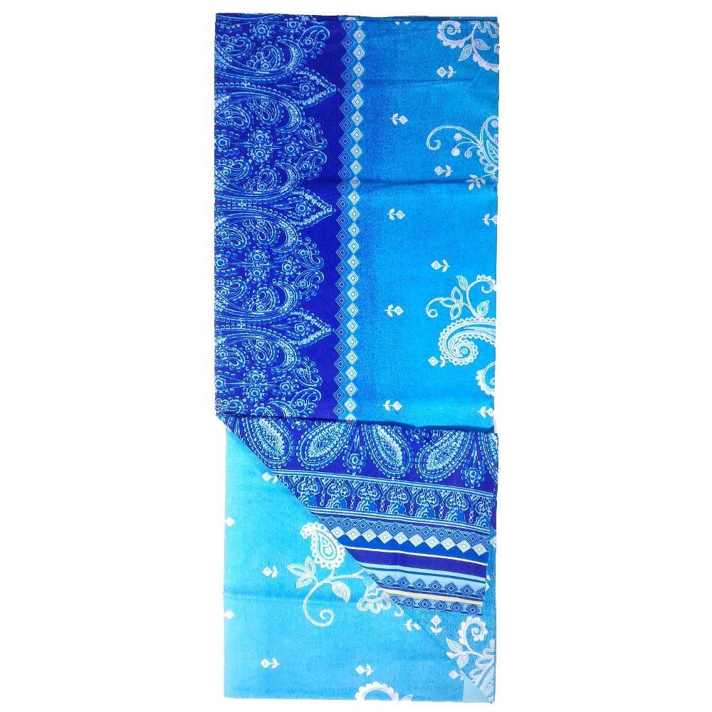 Bassetti dream foulard telo arredo ethnic color v 3 blu for Foulard per divani
