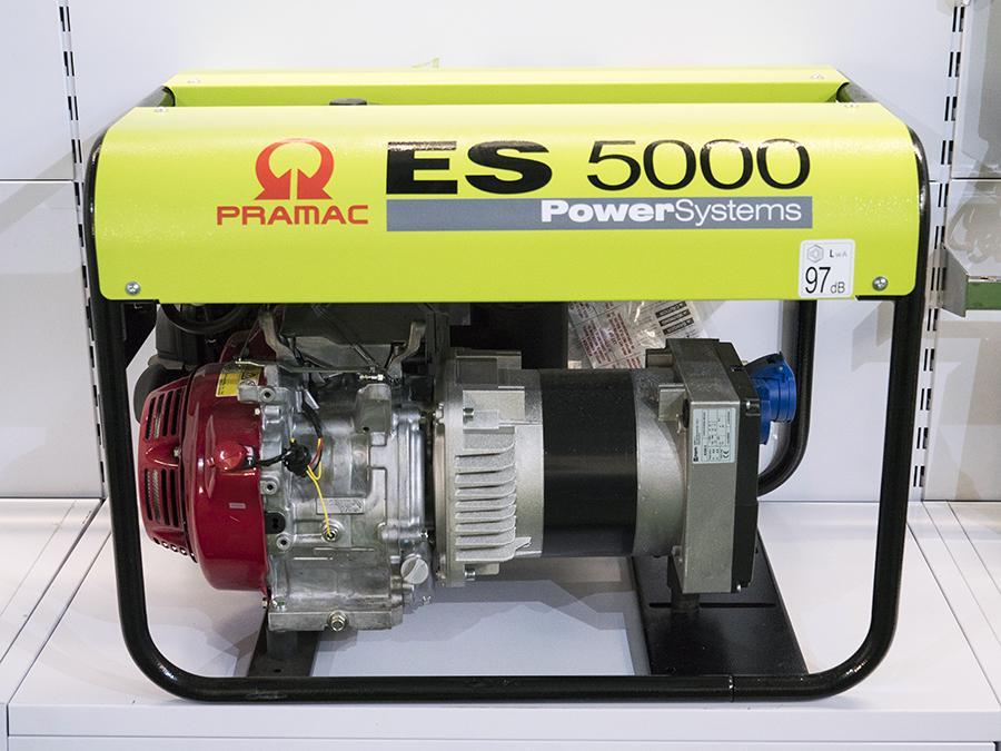 GRUPPO ELETTROGENO PRAMAC ES5000