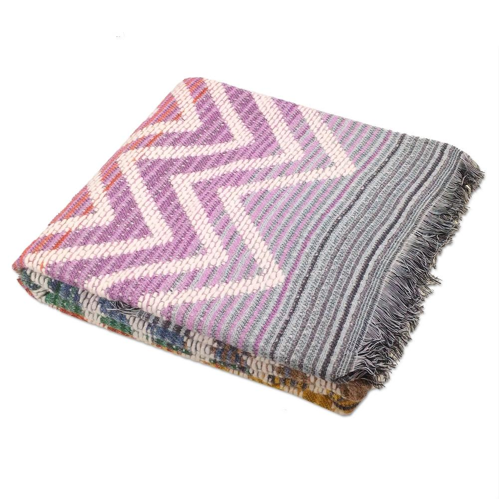 Missoni Home Throw: Missoni Home Throw With Fringes Sam 100 8051275171119