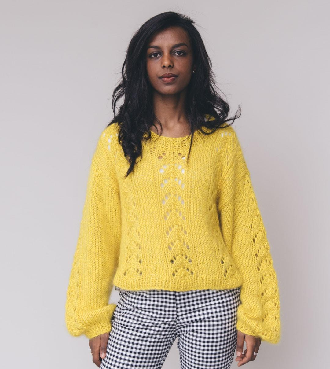Sweaters and Tops - Wool - MIMOSA SWEATER - 1