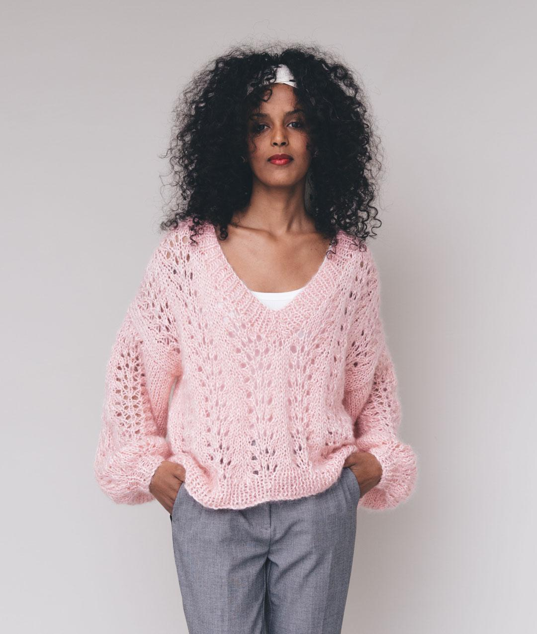 Peony Sweater Cotton Wool Knit Kit For Sweaters And Tops Online