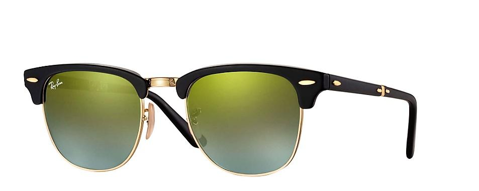 Rayban Rb 2176 Folding Clubmaster Flash Lenses Gradient (Pieghevoli)