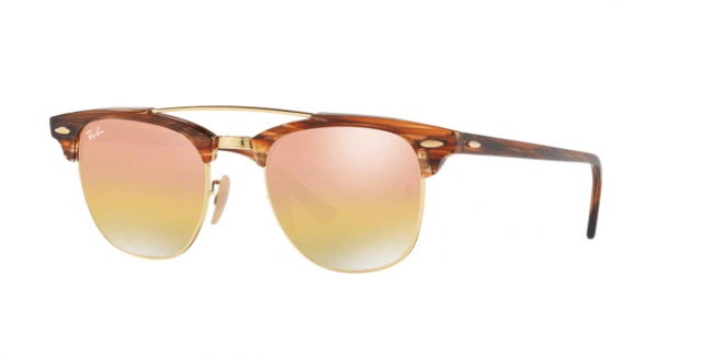 Rayban Rb 3816 Clubmaster Double Bridge Flash Lenses Gradient