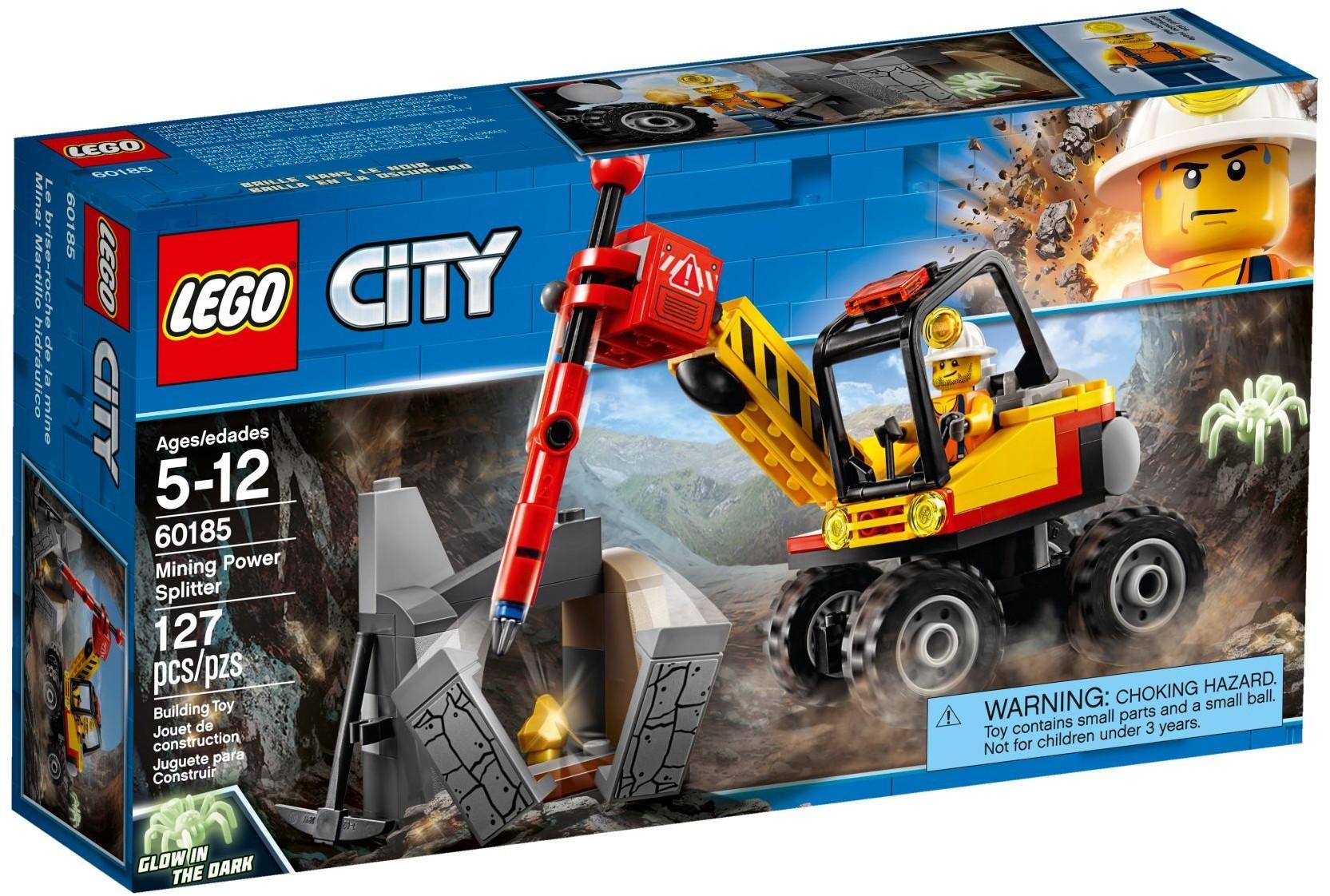 LEGO CITY SPACCAROCCIA DA MINIERA 60185