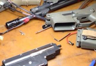 riparazione armi softair