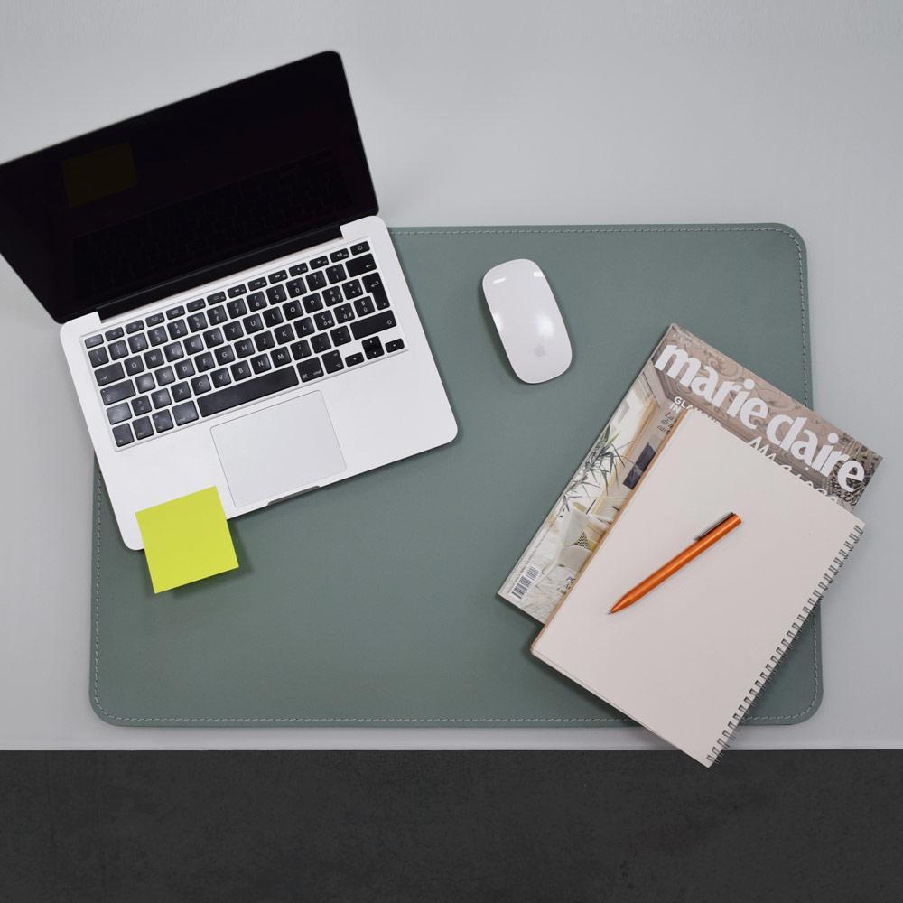 Desk Pad Hermes Sage Green