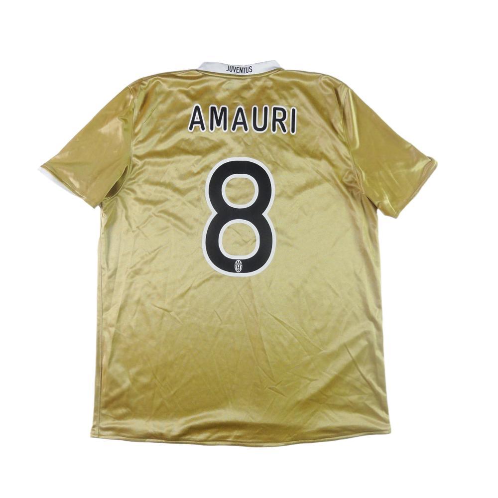 2008-09 Juventus Maglia Away #8 Amauri XL (Top)