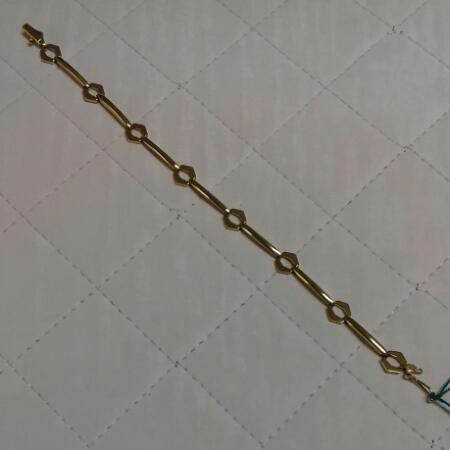 Bracciale donna in oro giallo semirigido vendita on line | GIOIELLERIA BRUNI Imperia