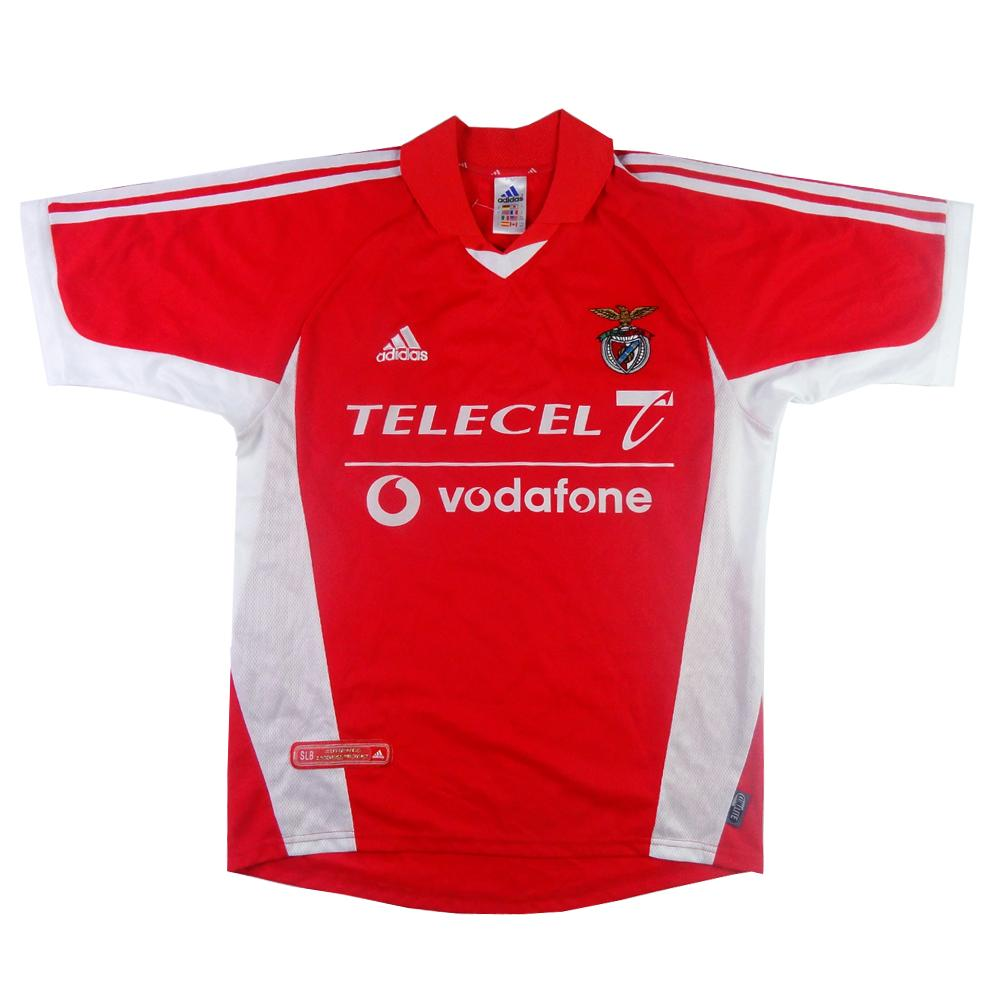 2001-02 Benfica Maglia Home S (Top)
