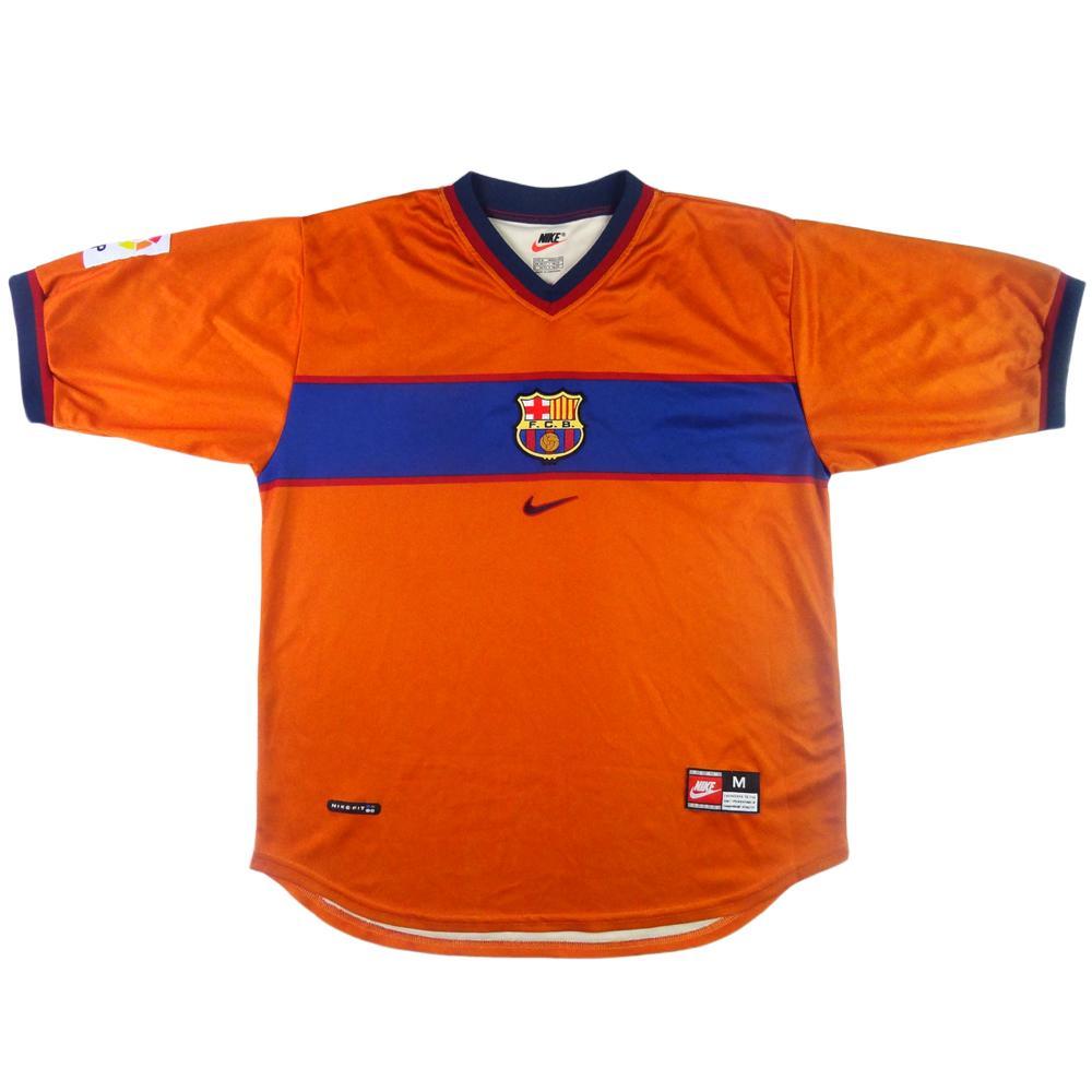 huge discount bd1fd cc0dc 1998-00 BARCELONA THIRD SHIRT M (TOP)