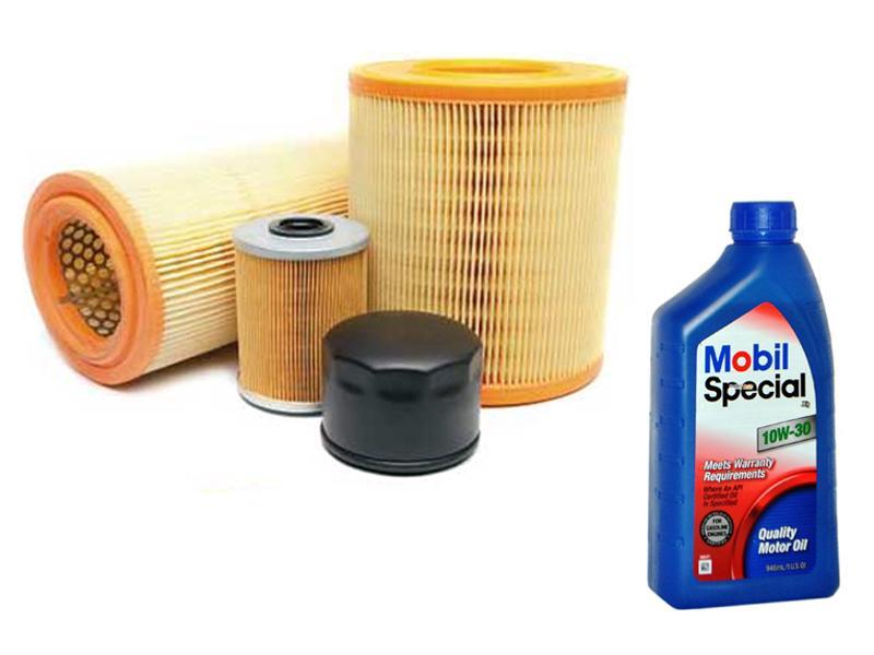Kit filtri Volkswagen Polo 1.4 tdi dal 2002 Al 2006