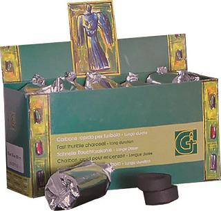 Carboncini scatola verde (90 pz)