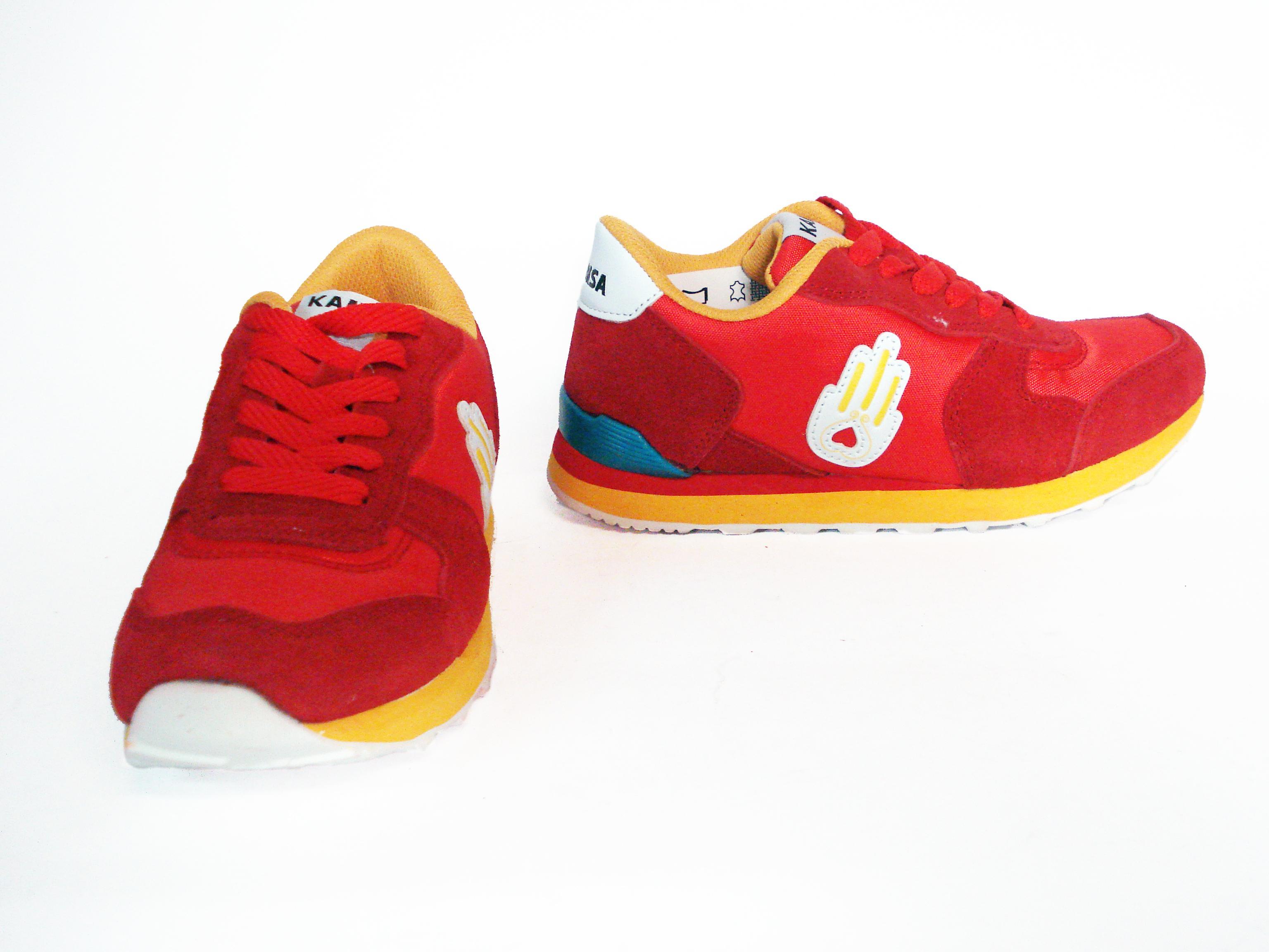 Sneaker rossa Kamsa