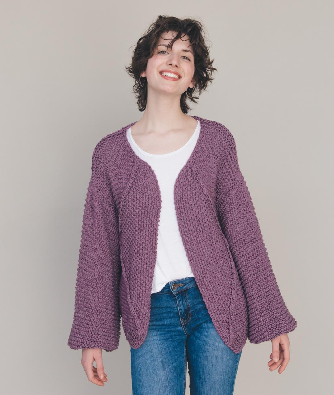 Summer 2018 Collection - Summer 2018 Collection -  - Lavender Cardi - 1