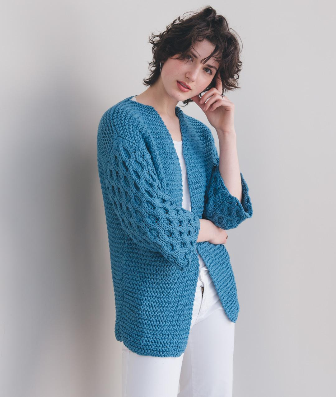 Cardigans and Vests  - Cotton - Iris Cardi - 1