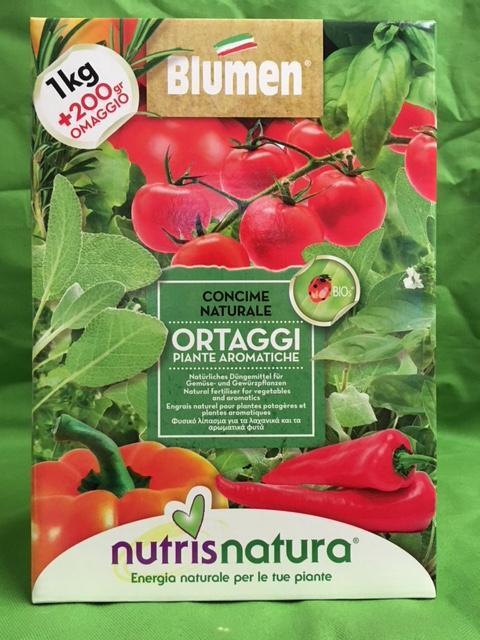 CONCIME NATURALE ORTAGGI 1kg