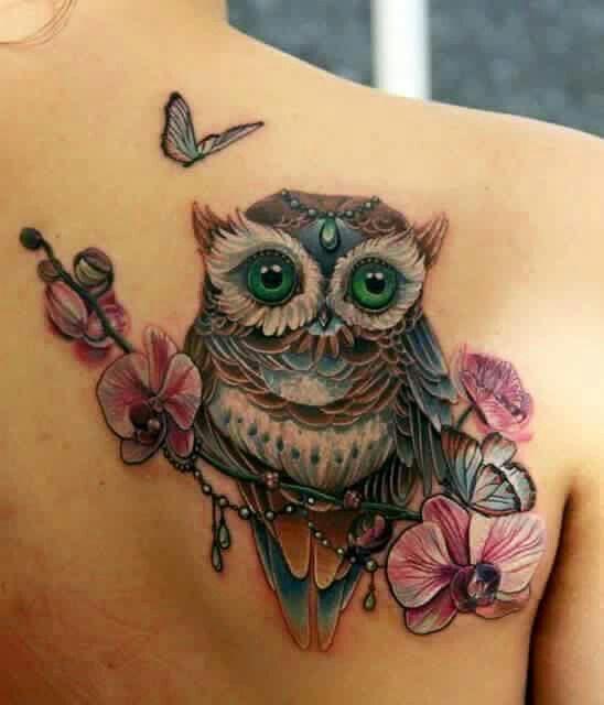 Il Significato Dei Tatuaggi Il Gufo