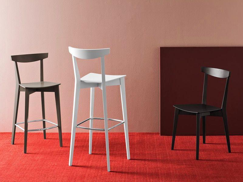 Sedie e sgabelli cucina. cheap roma sedia legno seduta legno with