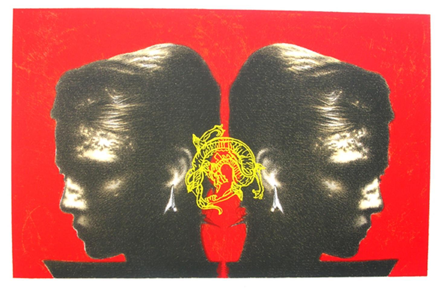 OMAR GALLIANI, Serigrafia e Litografia, Formato cm 50x70