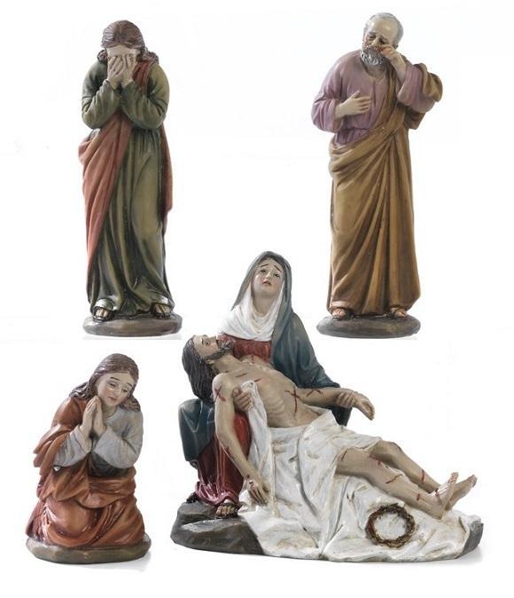 Addolorata con Gesù morto cm. 13