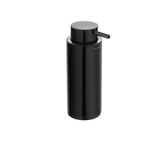 Dispenser da appoggio per il bagno serie Black & White Cosmic