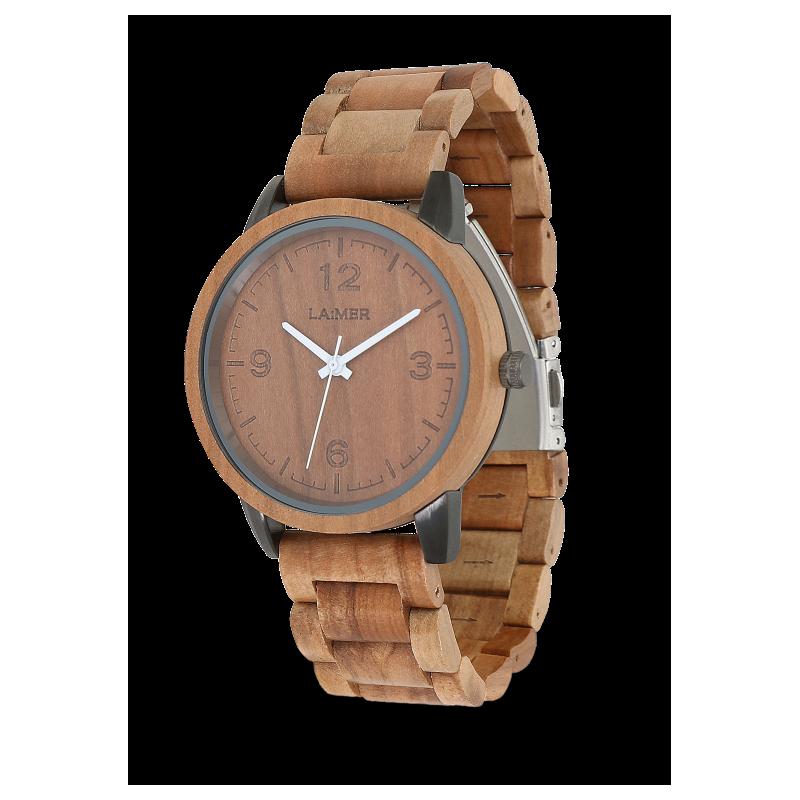 Orologio in legno EDDI
