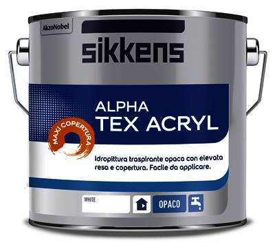 Idropittura murale Traspirante Alpha Tex Acryl SIKKENS
