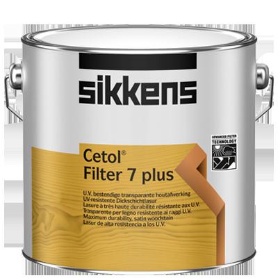 Finitura Legno Cetol Filter 7 plus ad altissima resistenza ai raggi UV SIKKENS