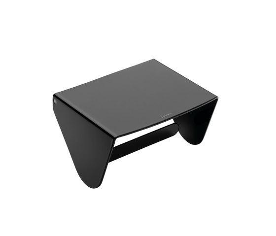 Porta rotolo per il bagno serie Black & White Cosmic
