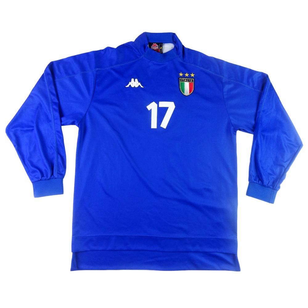 1998-00 ITALIA MAGLIA HOME L #17