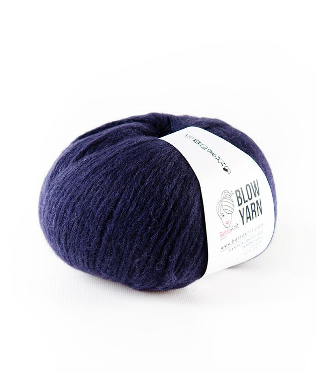 Sales - Wool - Blow Yarn - Blue Shades - 1