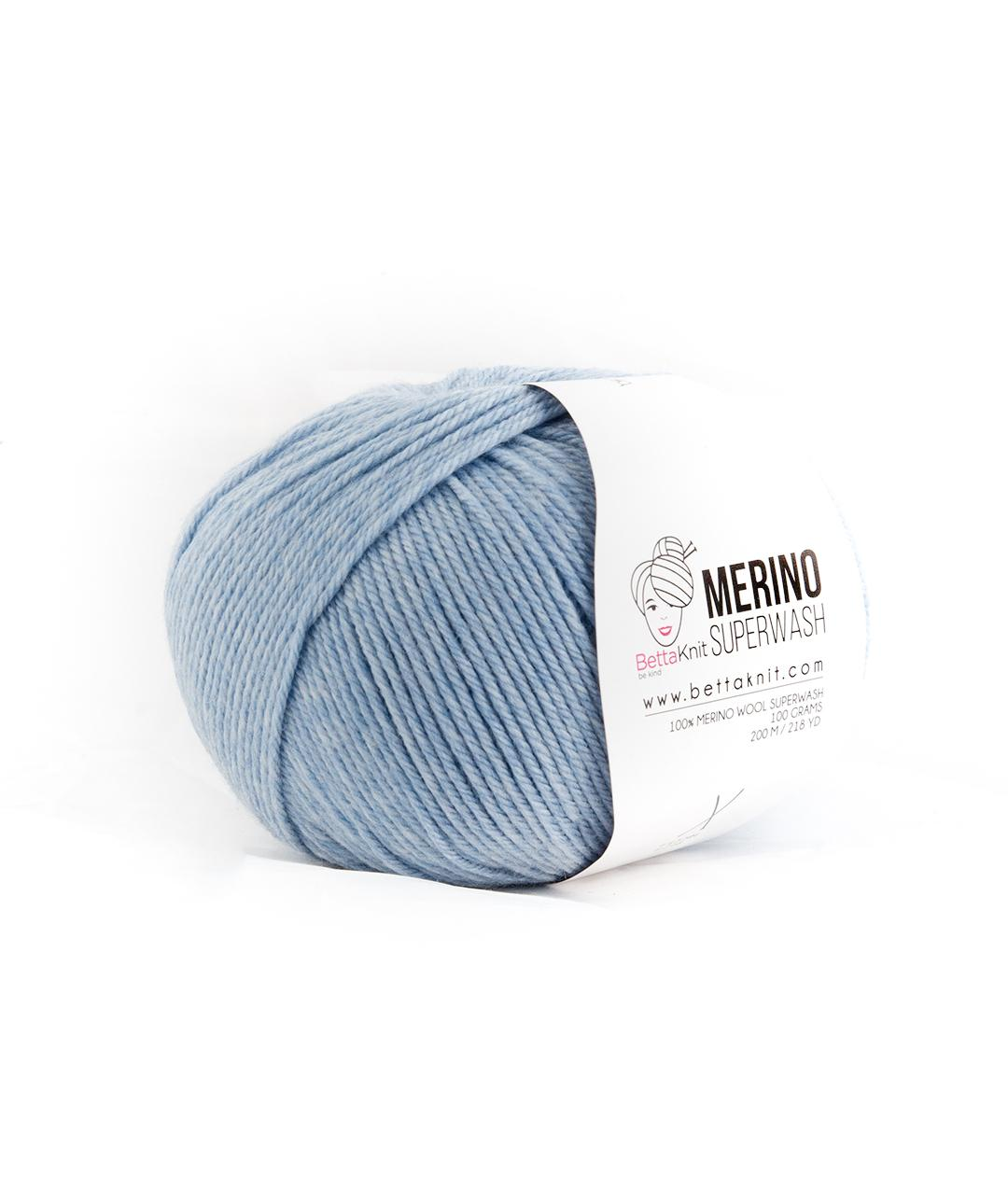 Sales - Wool - Merino Superwash - Blue Shades - 1