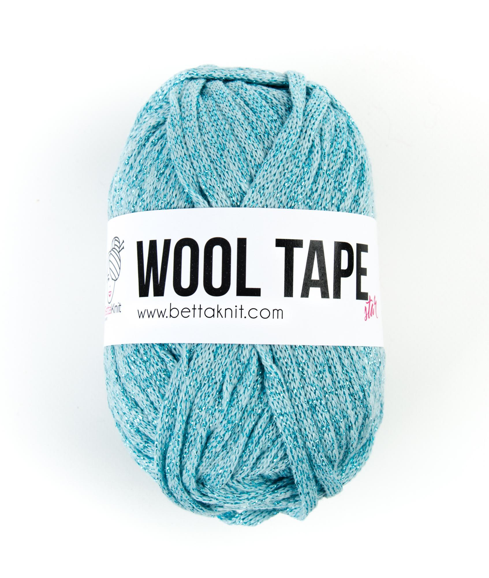 Saldi - Lurex - Wool Tape Star - Sfumature Blu - 1