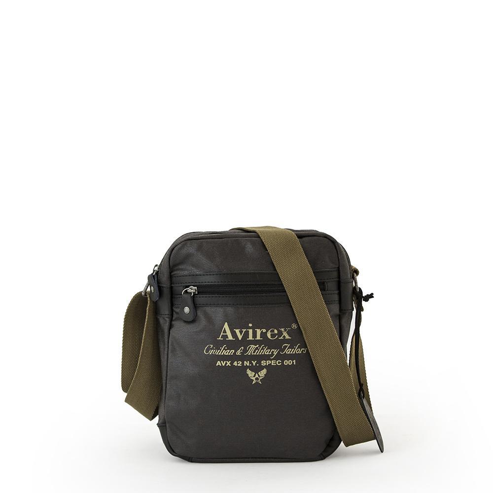 Avirex - Alifax Borsa a tracolla 1 scomp verde scuro - Pennytravel 28a5a02a091