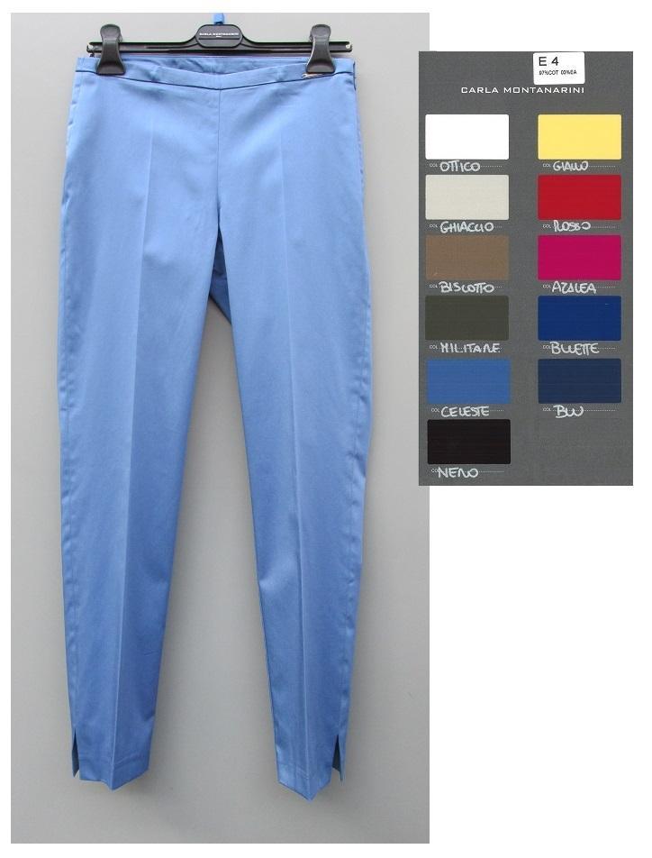 Pantalone capri con spacchetti