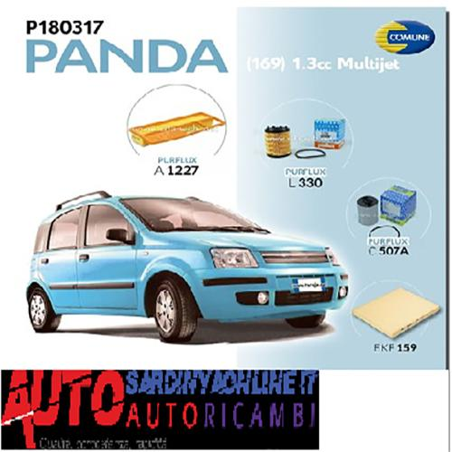 Super Kit filtri Fiat Panda