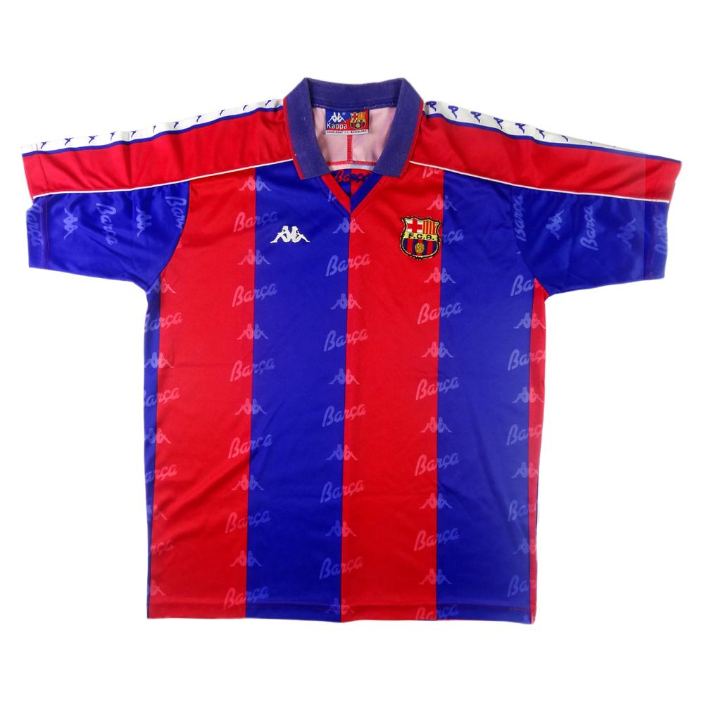1992-95 Barcelona Maglia Home Large