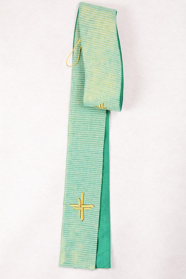 Stola S58 M2 Croce intreccio Verde